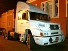 Homens são detidos em Itapetininga com carreta roubada em Cubatão