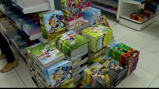 Preço de material escolar varia até 549% em Colatina, diz Procon