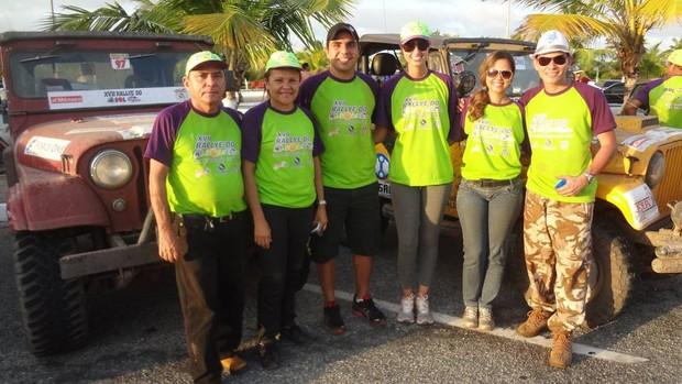 Família Franco marca presença no Rallye do Sol (Foto: Pedro Cruz)