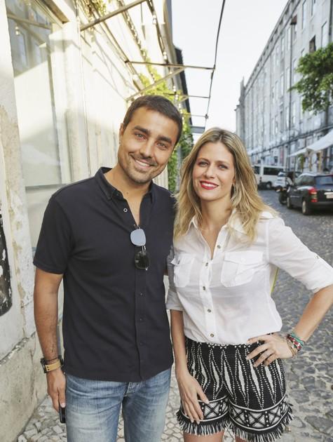Didi Wagner e Ricardo Pereira (Foto: Divulgação)