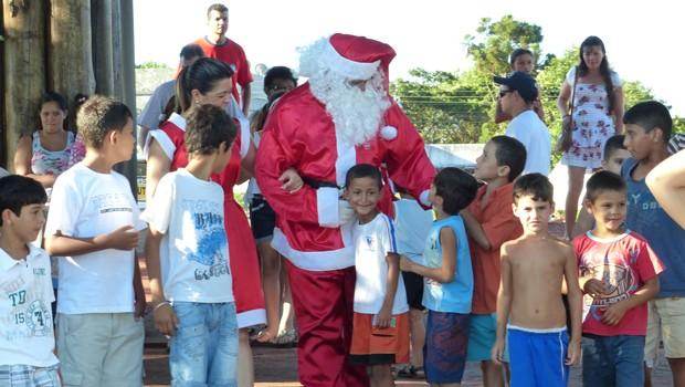A diversão está garantida para as crianças e também para os adultos (Foto: Reprodução/RPC)