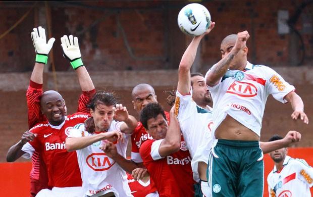 barcos Internacional X Palmeiras (Foto: Renan Olaz/Futura Press/Agência Estado)