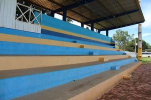Estádio Álvaro Felício Abrahão, em Xapuri (Foto: João Paulo Maia)