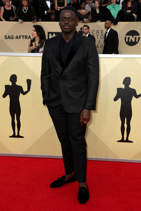 LOS ANGELES, CA - JANUARY 21:  Actor Daniel Kaluuya attends the 24th Annual Screen Actors Guild Awards at The Shrine Auditorium on January 21, 2018 in Los Angeles, California. 27522_017  (Photo by Frederick M. Brown/Getty Images) (Foto: Getty Images)