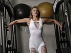 Marinara Costa mostra treino para realizar sonho de disputar seu primeiro concurso fitness