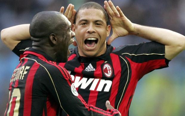 Ronaldo Seedorf Milan (Foto: Getty Images)