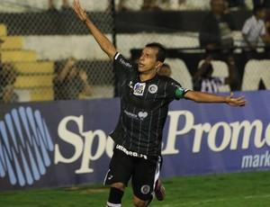 Didira faz o gol da vitória do ASA contra o Confiança (Foto: Valdeir Gois/Divulgação ASA)