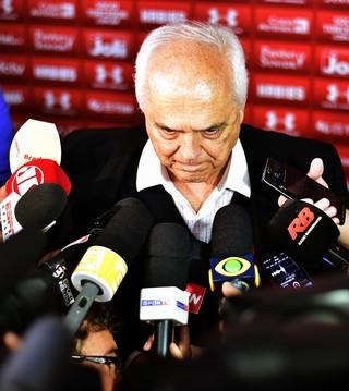 Leco presidente São Paulo (Foto: Marcos Ribolli)