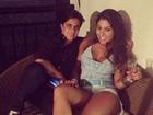 Namorada posta foto com Thammy Miranda: 'Cada dia gosto mais'