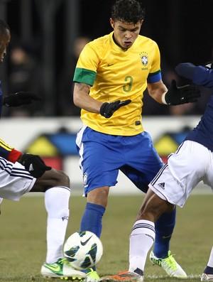 Thiago Silva Brasil x Colômbia (Foto: Mowa Press)