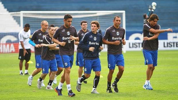 Grêmio tem uma dúvida na escalação para enfrentar o Flamengo (Foto: Lucas Uebel/Site oficial do Grêmio)