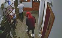 Vídeo mostra momento em que rapaz entra em pensão antes de ser morto (Reprodução/TVTEM)