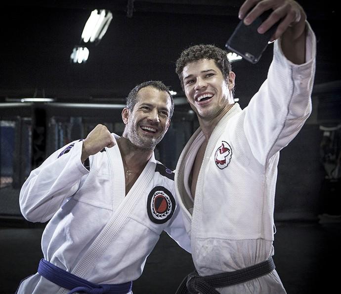 Malvino Salvador e José Loreto (Foto: Isabella Pinheiro/Gshow)