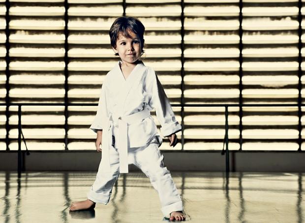 menino, esporte, judô (Foto: Daniel Aratang / Editora Globo)
