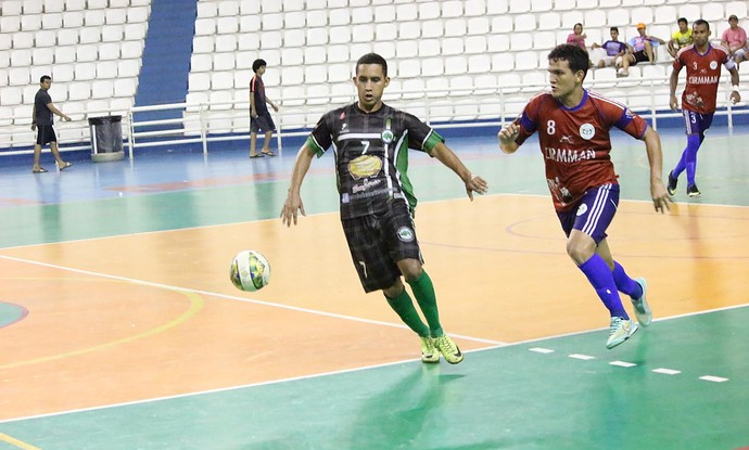 Estrela do Norte e Cirmman futsal amazonas (Foto: Emanuel Mendes Siqueira)