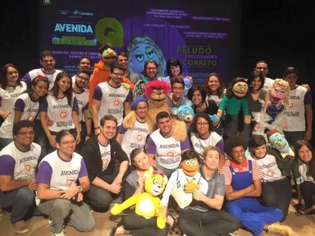 Espetáculo conta com 50 profissionais (Foto: Divulgação)