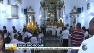 Festa religiosa: católicos e adeptos do candomblé celebram o Dia de São Roque, ou Obaluaê