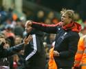 Liverpool consegue empate aos 51 do segundo tempo, mas perde posições