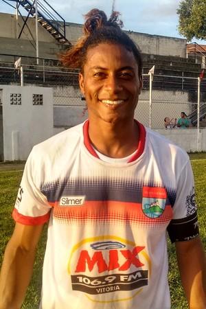 Sallen, meia do Vilavelhense (Foto: Wagner Chaló/GloboEsporte.com)