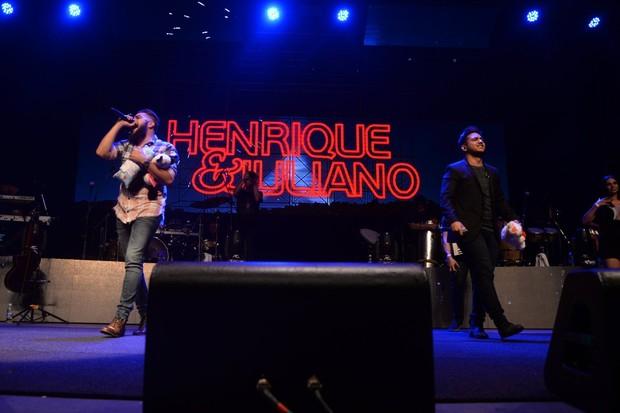 how Henrique e Juliano (Foto:  Leo Marinho/Divulgação)
