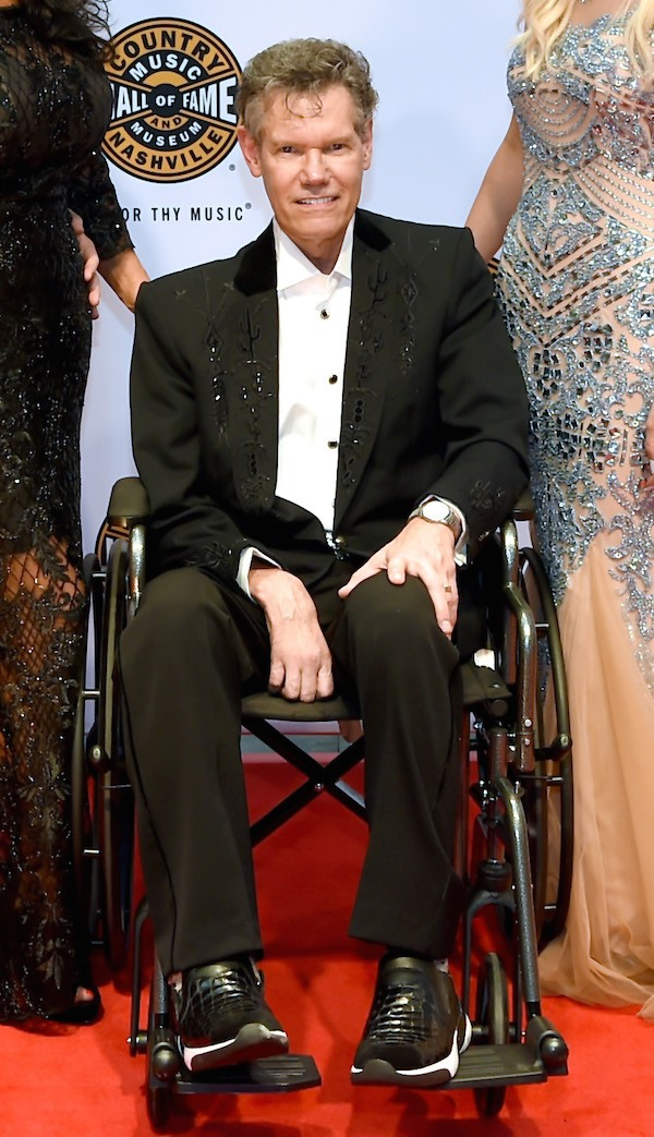 O cantor Randy Travis (Foto: Getty Images)