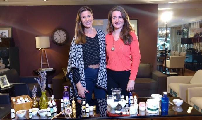 Mistura mostra produtos naturais, feitos em casa, que não agridem o ambiente e são eficientes (Foto: RBS TV/Divulgação )