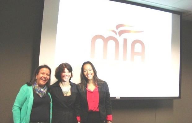 Da esquerda para a direita, as fundadoras do MIA: Ana Fontes, Maria Rita Bueno e Camila Farani (Foto: Divulgação/MIA)