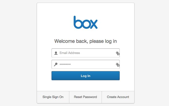 Faça login no Box (Foto: Reprodução/Paulo Alves)