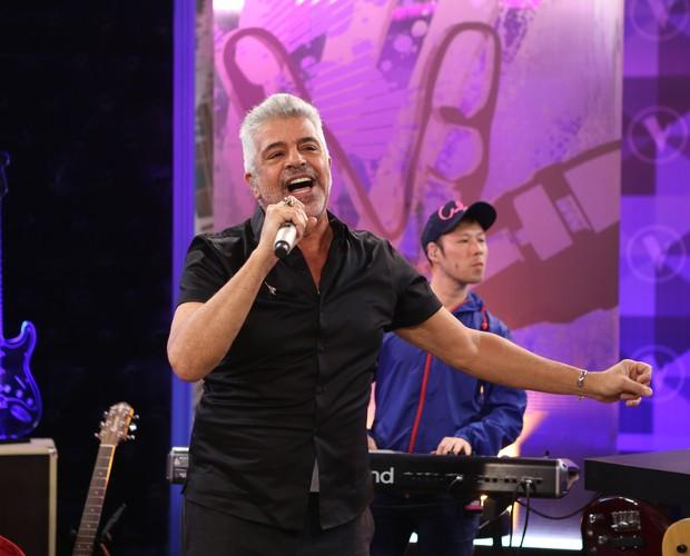 Lulu Santos canta no The Voice Web (Foto: Isabella Pinheiro/ Gshow)