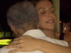 Gilberto Gil dança agarradinho com Ivete Sangalo em aniversário