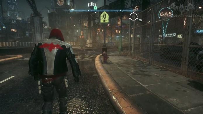 Capaz Vermelho é apenas um dos muitos personagens jogáveis no mod de Batman: Arkham Knight (Foto: Reprodução/YouTube)