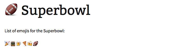 Bola de futebol americano serve também como Super Bowl (Foto: Reprodução/Melissa Cruz)
