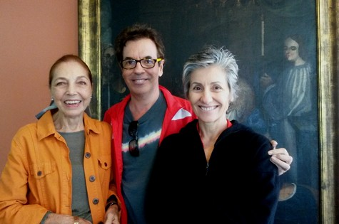 Marina Colasanti, Marcelo Andrade e Cássia Kis (Foto: Edson Brandão)