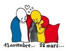 Famosos lamentam atentados terroristas em Bruxelas na web