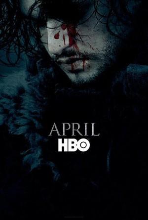Jon Snow no pôster da sexta temporada de 'Game of thrones' (Foto: Divulgação)