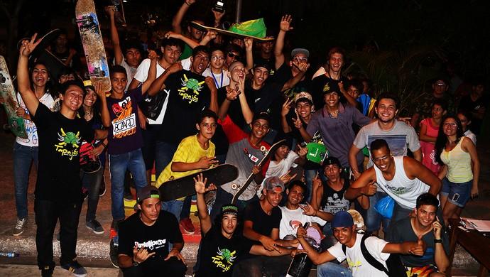 Skatistas Santarém Rei do Bosque (Foto: Divulgação: Junior Soares)