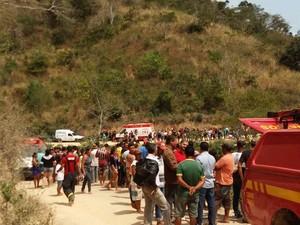 Oito adolescentes se feriram, um está em estado grave (Foto: Polícia Civil/Divulgação)