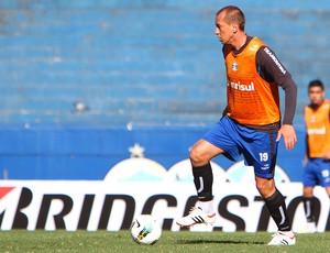 Marquinhos no treino do Grêmio (Foto: Lucas Uebel / Site Oficial do Grêmio)