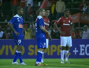 Dedé e Nilton, do Cruzeiro (Foto: Reprodução / Premiere FC)