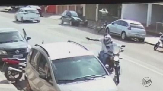 Homem e mulher são baleados após tentativa de roubo em Porto Ferreira; vídeo