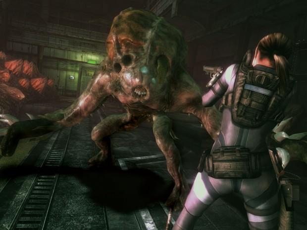 """Cena de """"Resident Evil: Revelations"""" para os videogames e PC (Foto: Divulgação/Capcom)"""