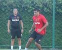 Diego Souza não treina com bola no Sport e decisão fica para sexta-feira
