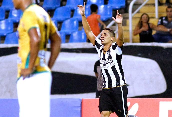 Gilberto, Botafogo X Tigres (Foto: Vitor Silva / SSpress)