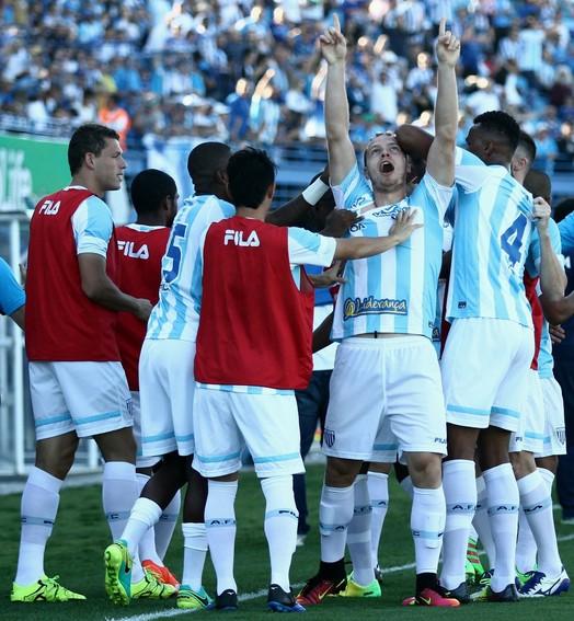 como um gol (Jamira Furlani/Avaí FC)