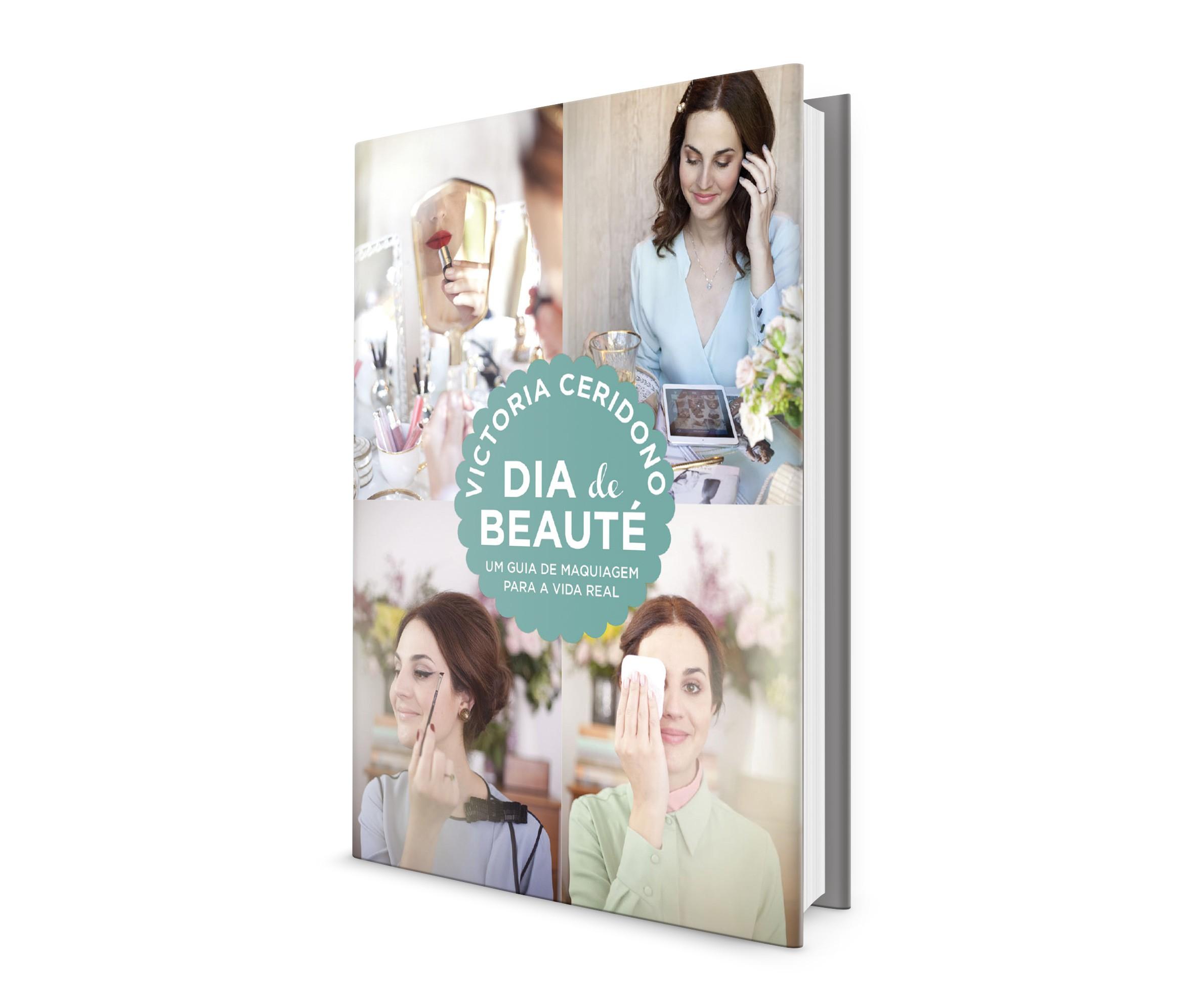 Dia de Beauté: o guia de maquiagem em livro de Victoria