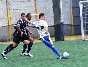 Mendes abre a semifinal nesta sexta, contra o Fortaleza, em Colatina. Rio Branco encara o Santo André neste sábado (Foto: Federação de Futebol 7 do Espírito Santo)