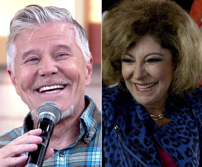 Miguel declara todo seu amor por Marília Pêra (Foto: TV Globo)