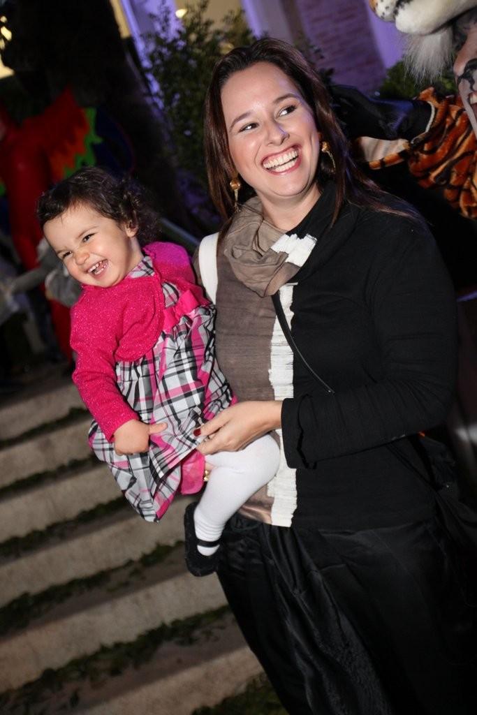 Mariana Belém e Laura (Foto: Leo Franco e Thiago Duran/AgNews)