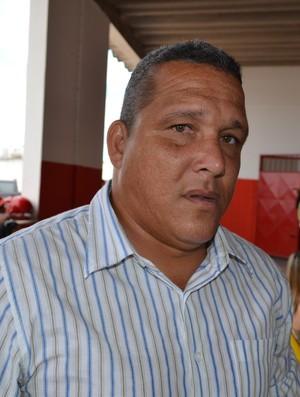 Givanildo Sales pede que torcedor acredite em sucesso na temporada (Foto: Thiago Barbosa/GLOBOESPORTE.COM)