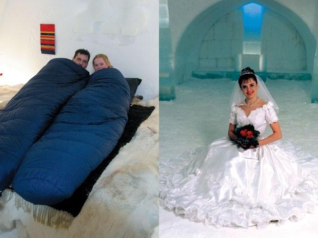 Hotel iglu na Finlândia (Foto: Divulgação)